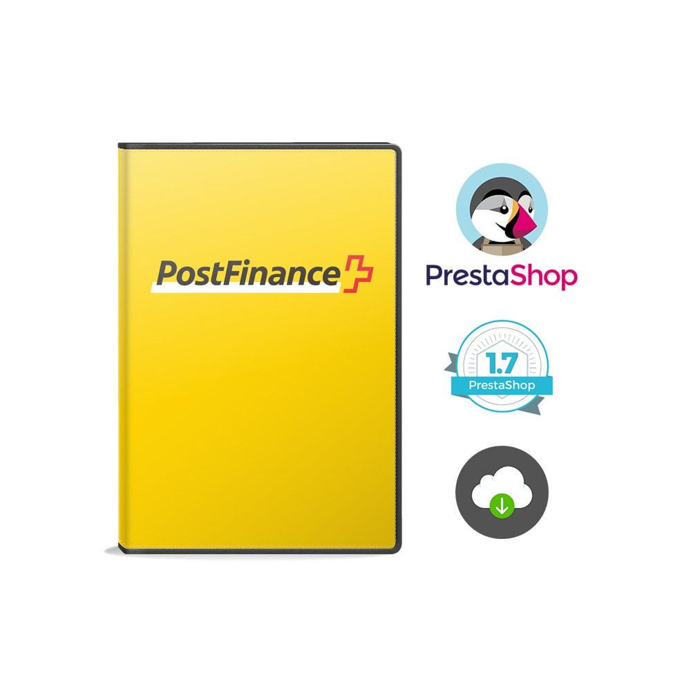 module - Pagamento por cartão ou por carteira - PostFinance & Twint - 2