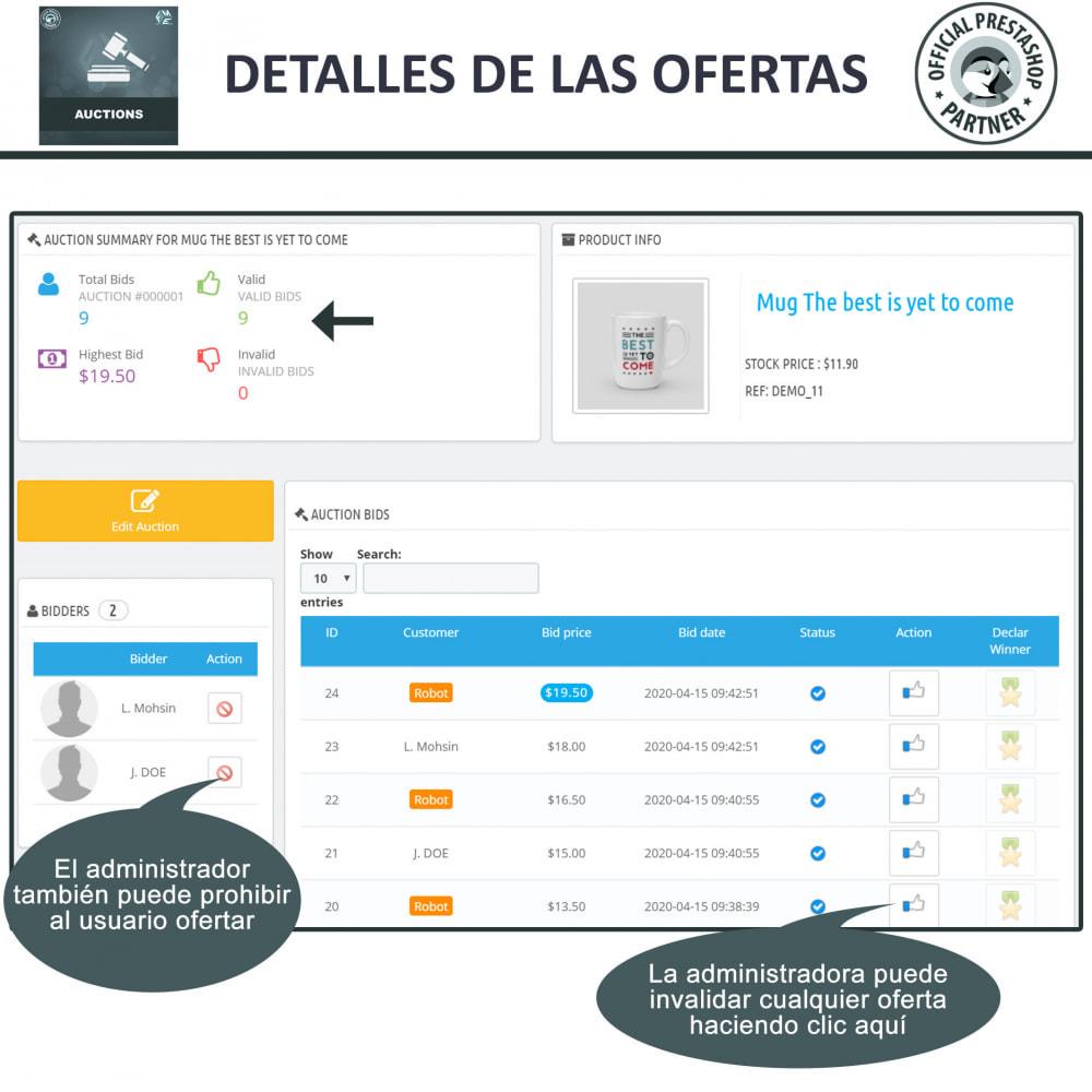 module - Web de Subastas - Subasta Pro - Subastas en línea y oferta - 20