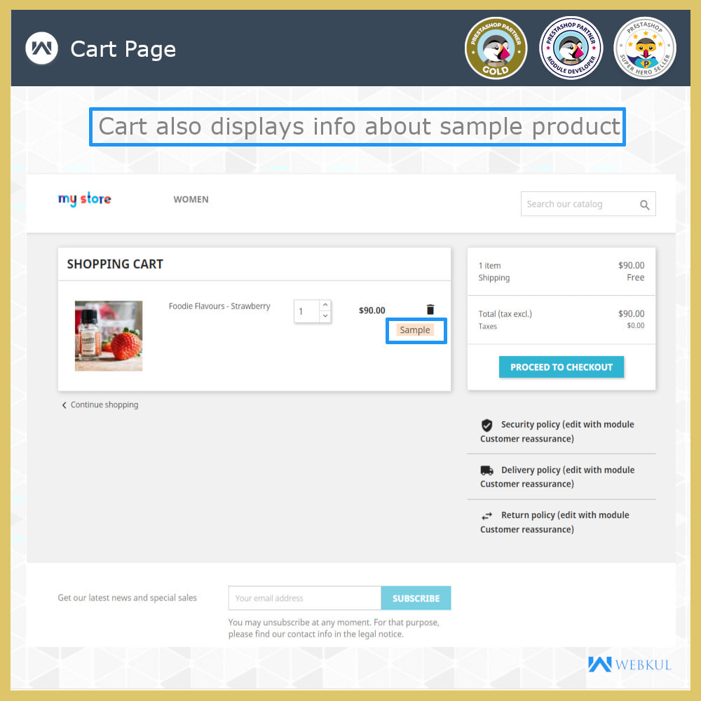 module - Additional Information & Product Tab - Sample Product | Try Before Purchase - 5