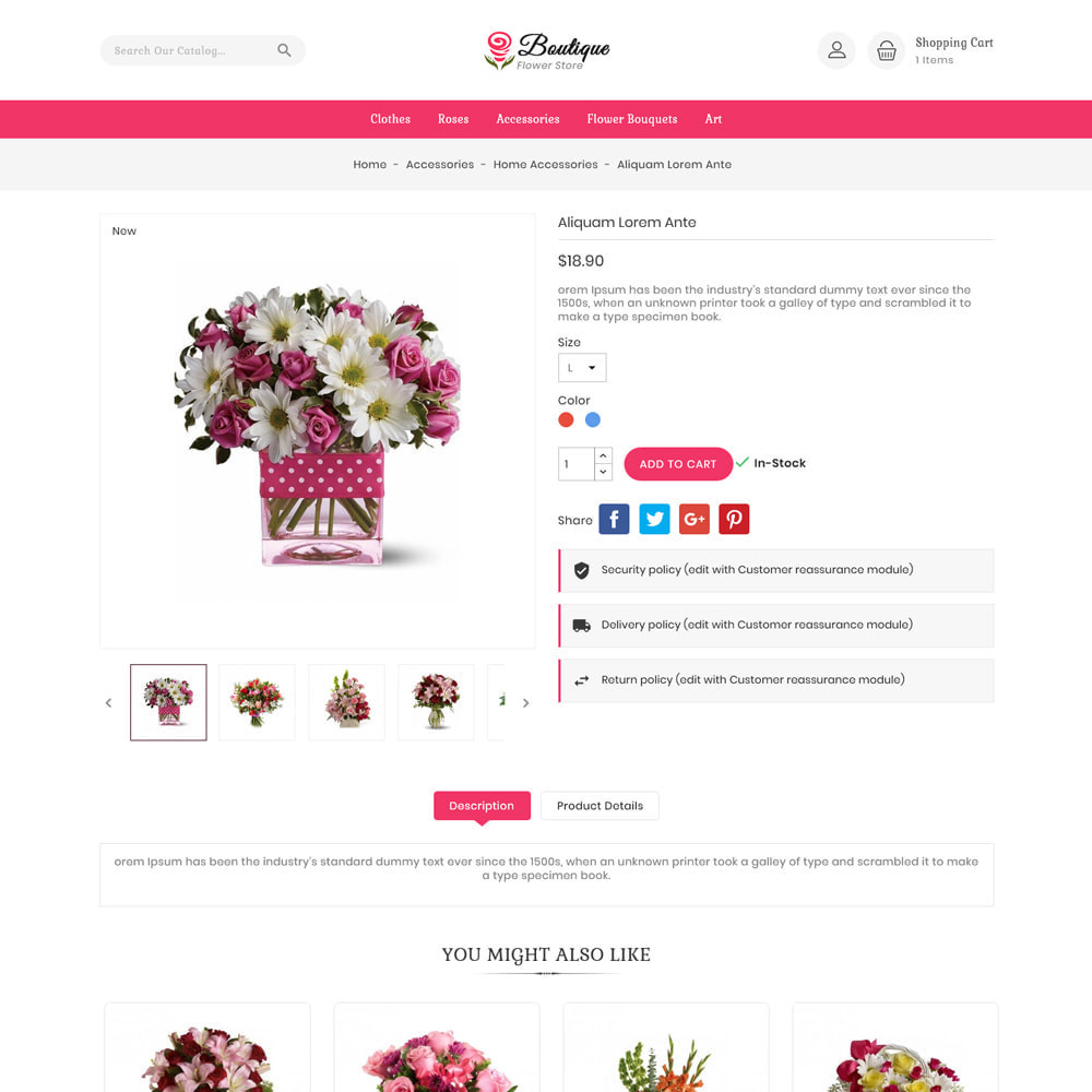theme - Gifts, Flowers & Celebrations - Boutique flower store - 5