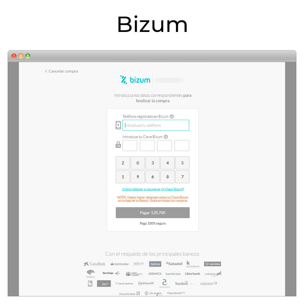 module - Payment by Card or Wallet - Card payment Virtual POS CECA gateway,refunds (& Bizum) - 6