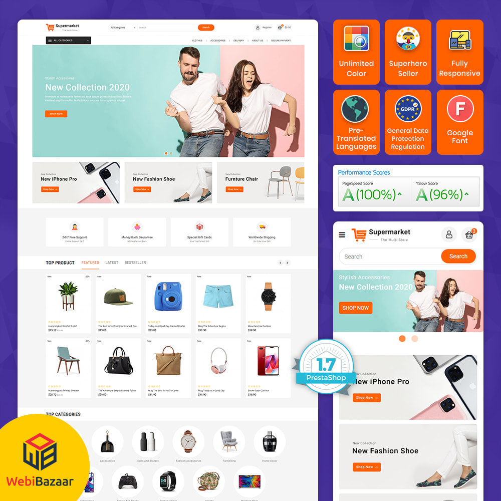 theme - Electronics & Computers - Super Market  - Electronics Shopping Store - 1
