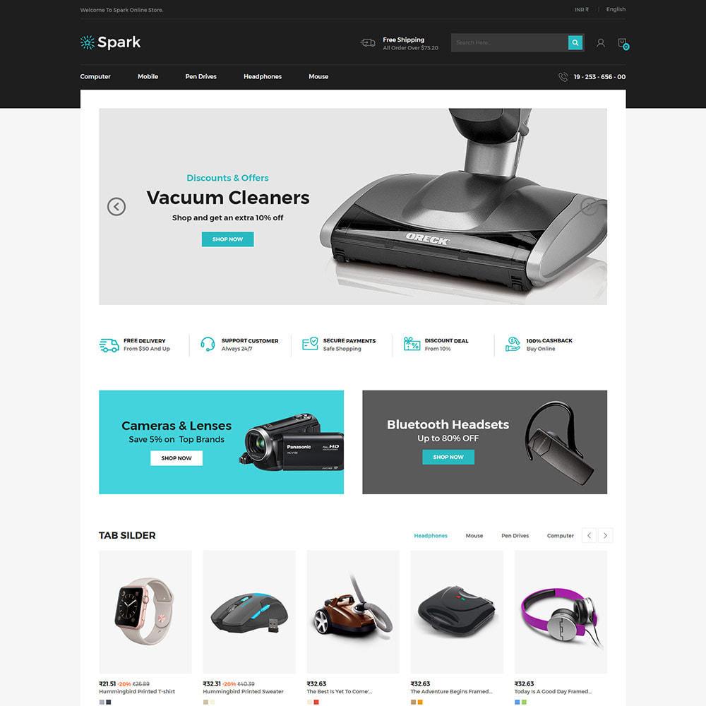 theme - Авто и Мото - Spark Mobile - Digital Electronics Store - 2