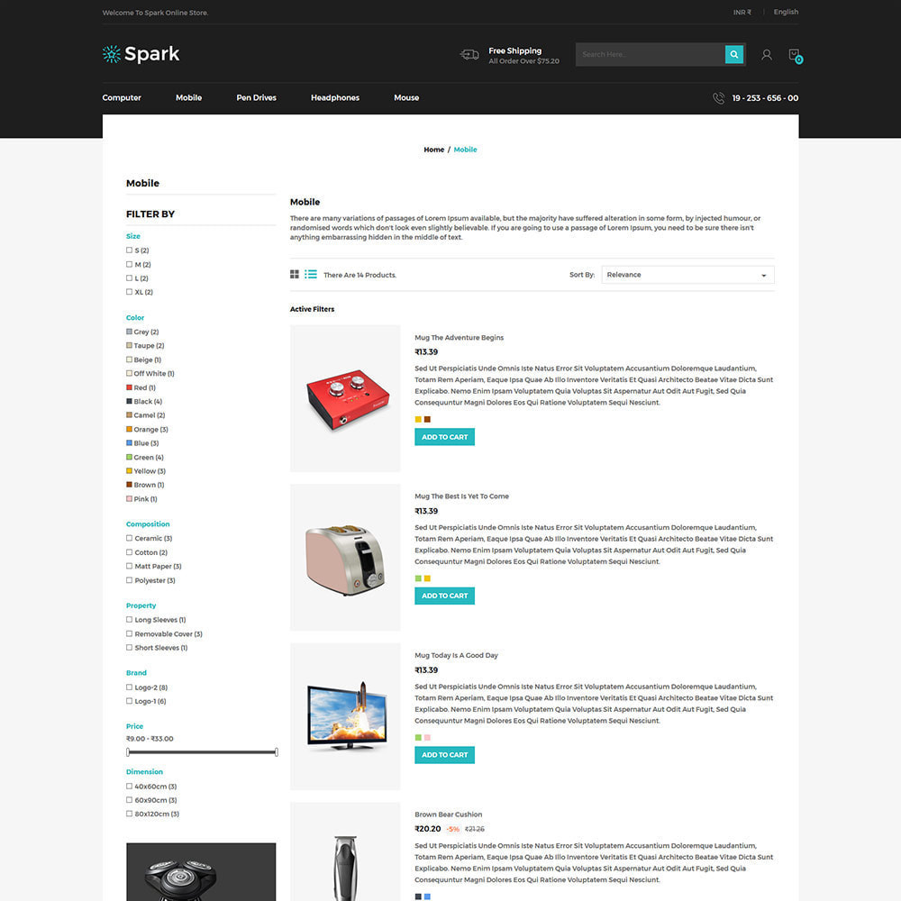 theme - Carros & Motos - Spark Mobile - Digital Electronics Store - 5