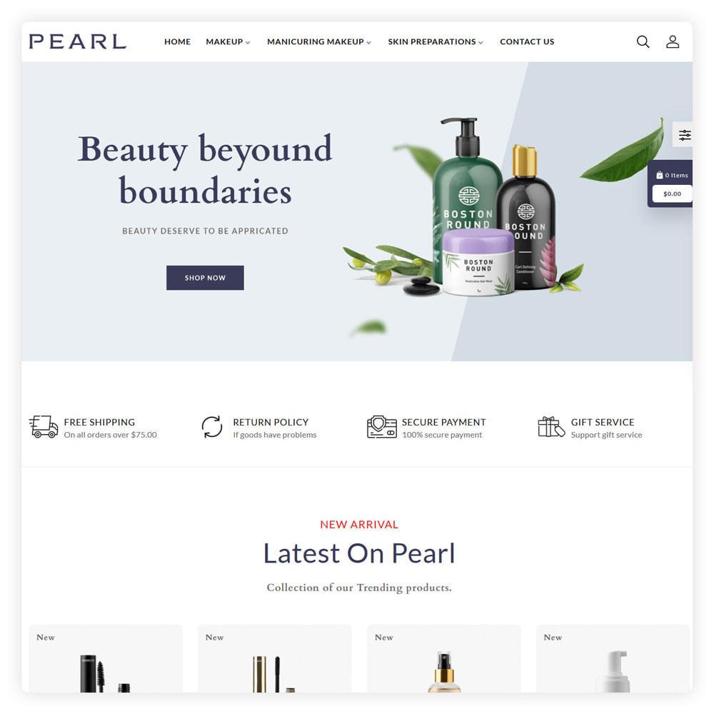 theme - Gezondheid & Schoonheid - Peral Cosmetic Store - 2