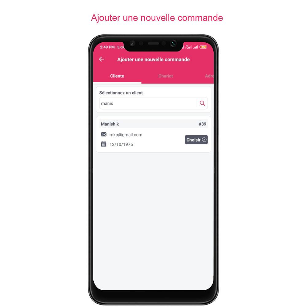 module - Mobile - FE Presta Admin App - admin de magasin facile à gérer - 22