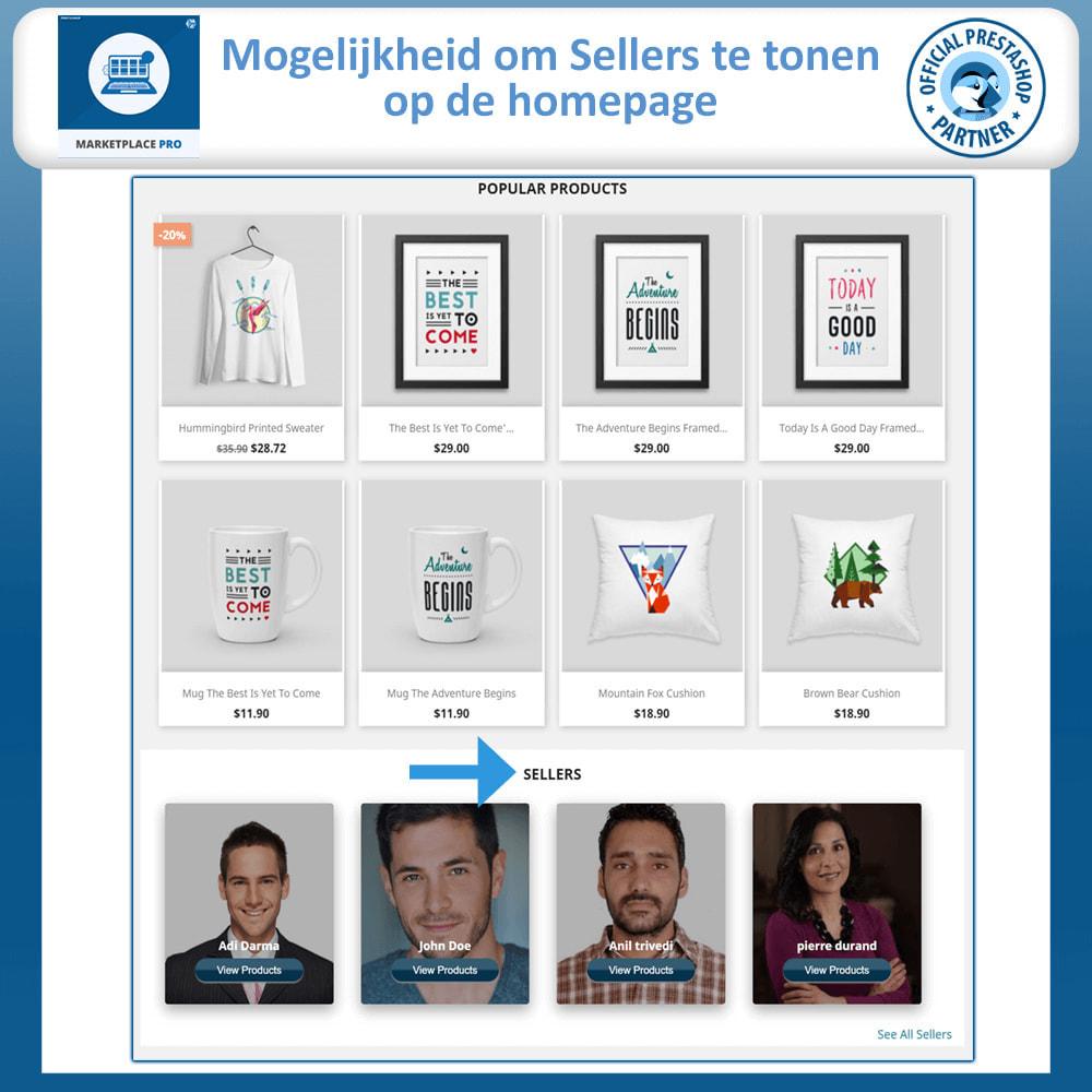 module - Marktplaats opzetten - Multi Vendor Marketplace  - Marketplace Pro - 2
