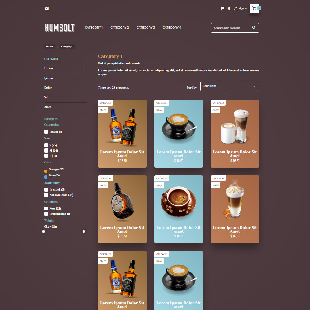 theme - Food & Restaurant - Cafetime Food Store - 4