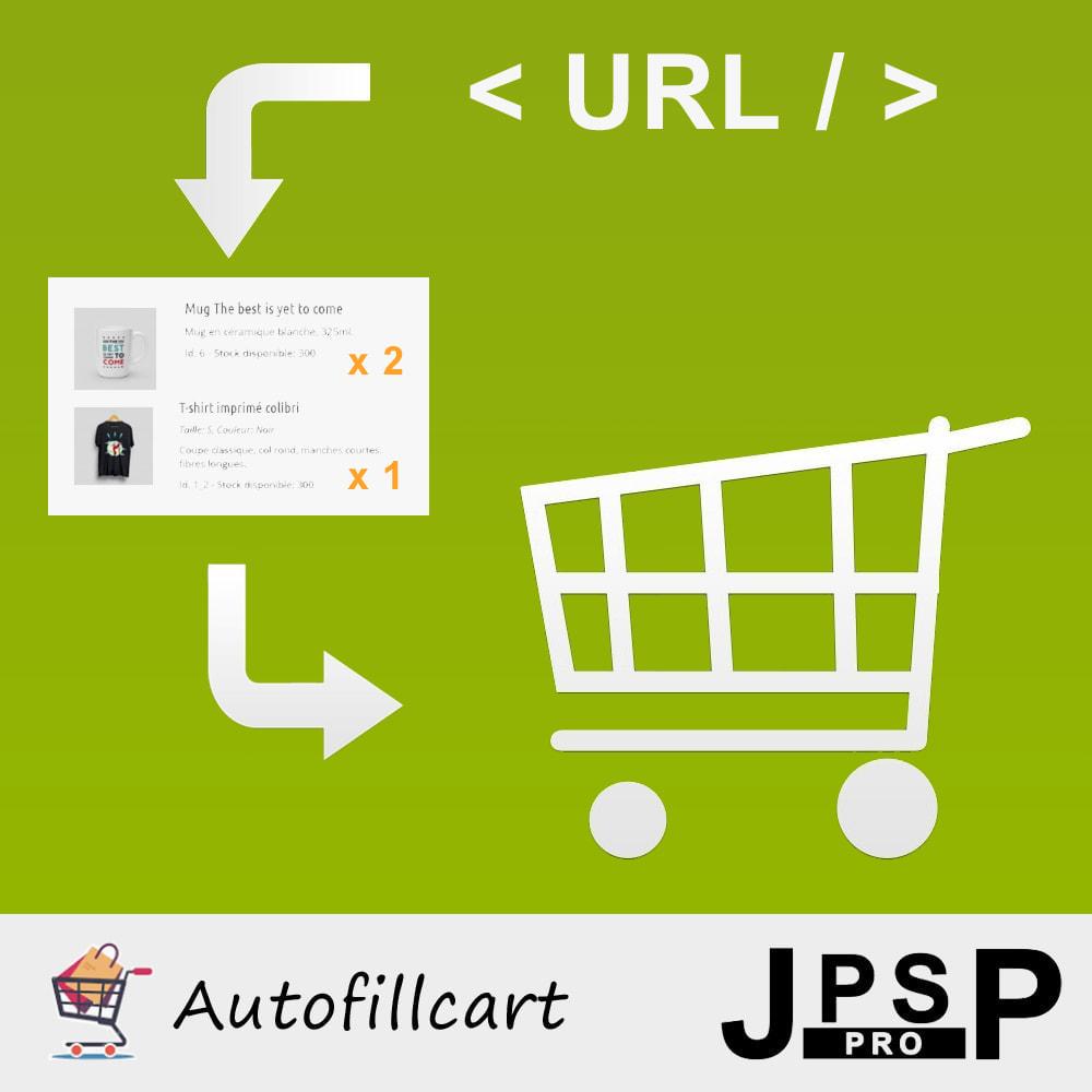 module - Anmeldung und Bestellvorgang - Fill cart automatically - 1