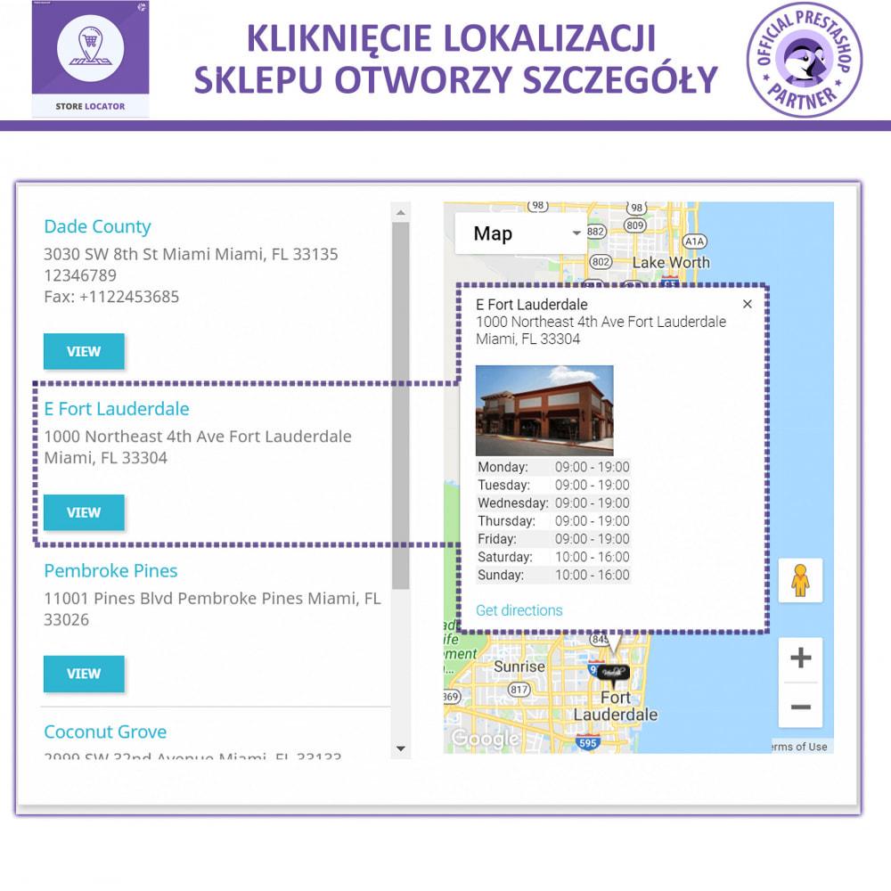 module - Międzynarodowość & Lokalizacja - Lokalizacji Sklepu Mapami Google - 4