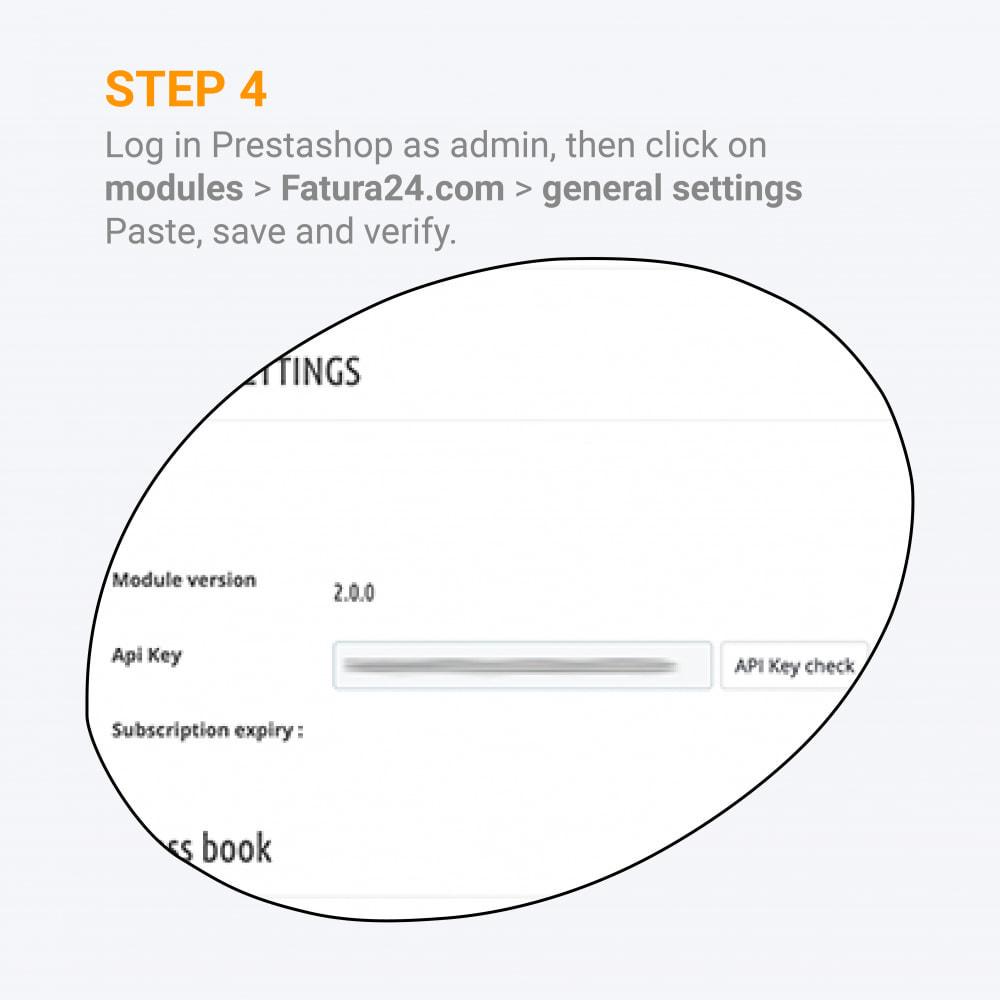module - Księgowość & Fakturowania - Fattura24 - Custom Invoice Generator - 5
