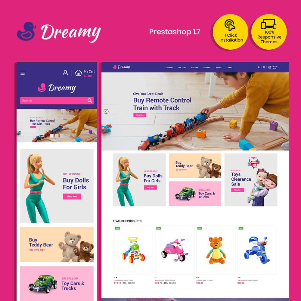 theme - Zabawki & Artykuły dziecięce - Dreamy Kids - Toys Game Store - 1