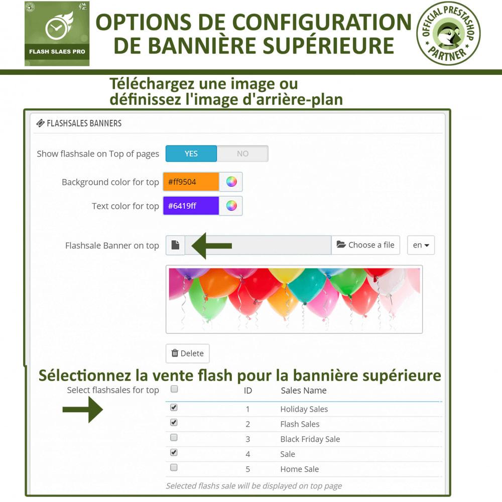 module - Ventes Flash & Ventes Privées - Flash Sales Pro - Remise avec compte à rebours - 17