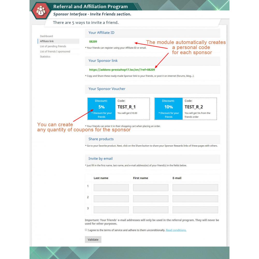 module - Indicizzazione a pagamento (SEA SEM) & Affiliazione - Programma di Affiliazione Plus - 2