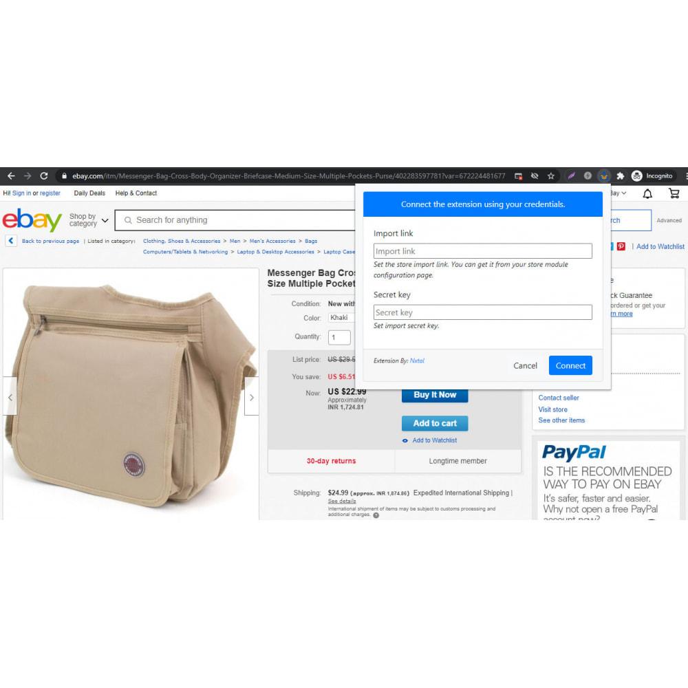 module - Importação & exportação de dados - Advanced Ebay Product Importer - 3