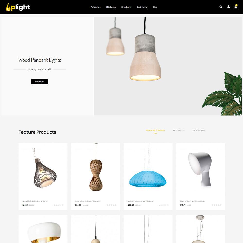 theme - Hogar y Jardín - Uplight - Light Shop - 2