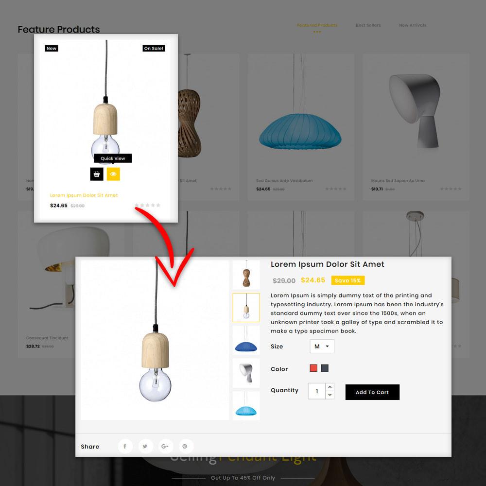 theme - Hogar y Jardín - Uplight - Light Shop - 5