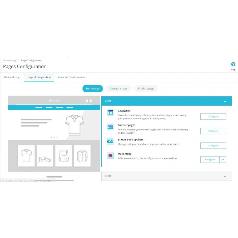 module - Page Customization - Theme Customization - 1