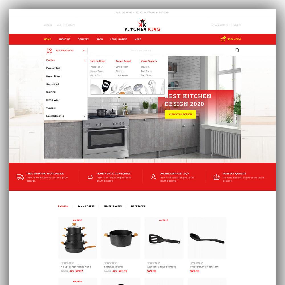 theme - Home & Garden - Kitchenking - Kitchen Store - 2