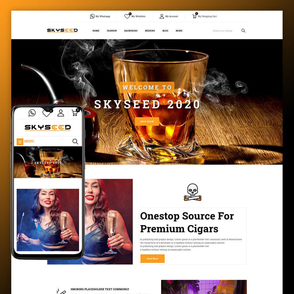 theme - Drink & Tobacco - Skyseed - Tobacco Store - 1