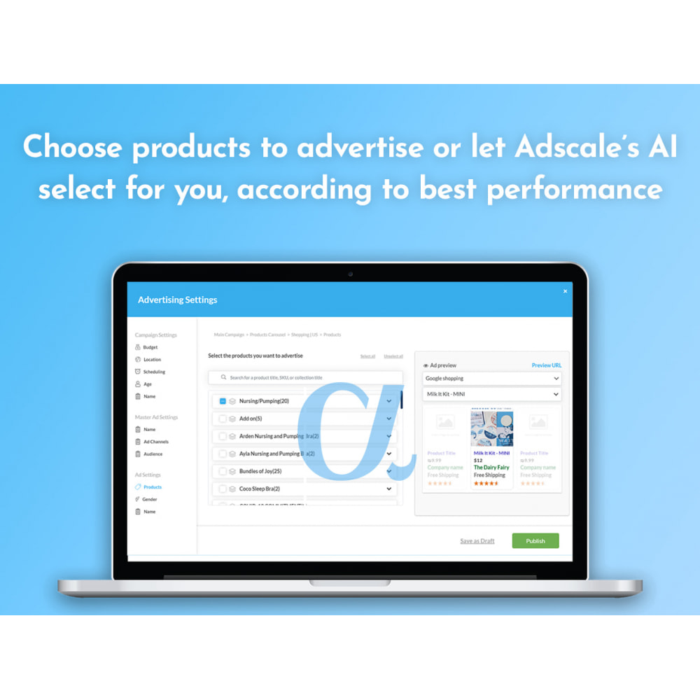 module - SEA SEM (paid advertising) & Affiliation Platforms - AdScale - AI Advertising with an ROI of 1,000% ! - 3