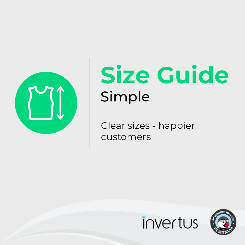 module - Sizes & Units - Size Guide Simple - Product Size Chart - 1