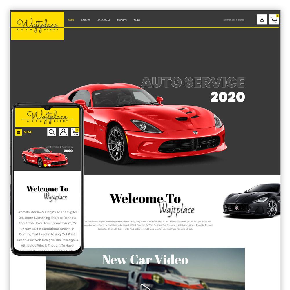 theme - Auto & Moto - Wojtplace - Autoparts Store - 1