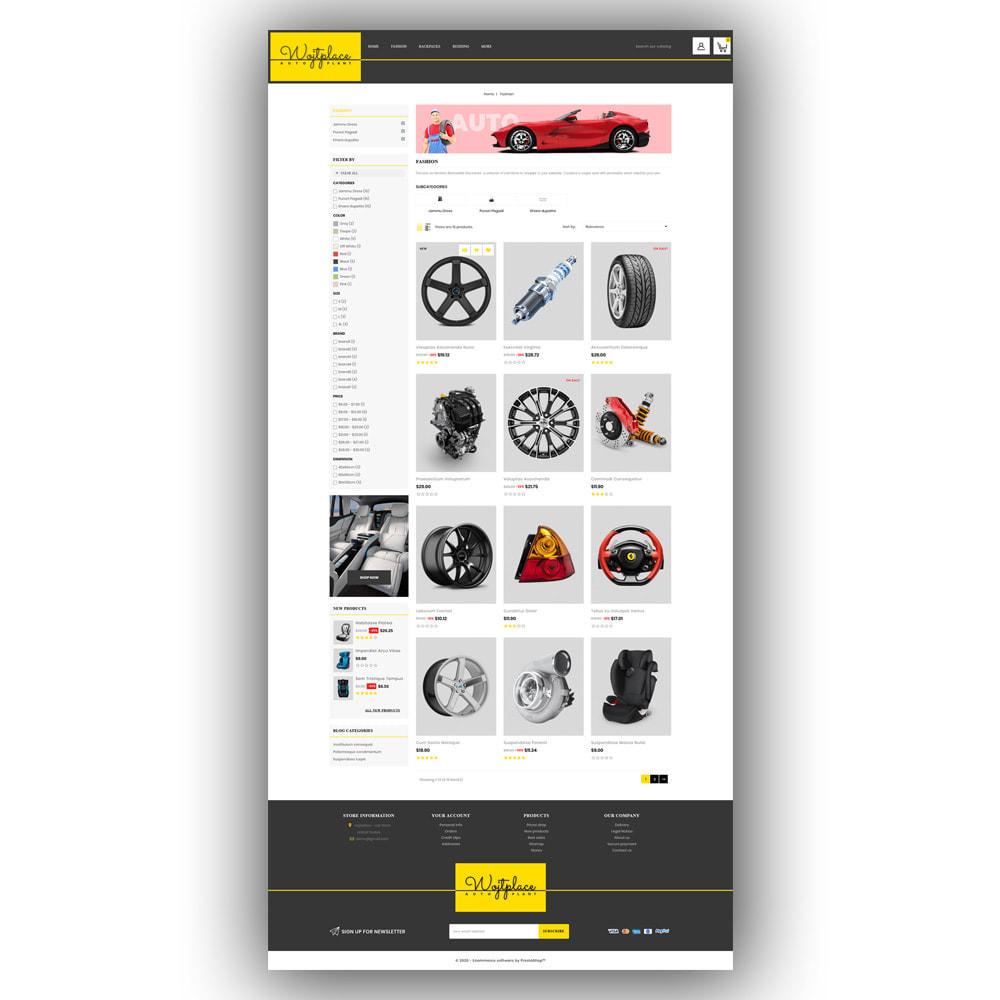 theme - Auto & Moto - Wojtplace - Autoparts Store - 4