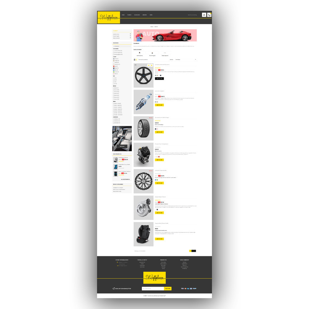 theme - Auto & Moto - Wojtplace - Autoparts Store - 5