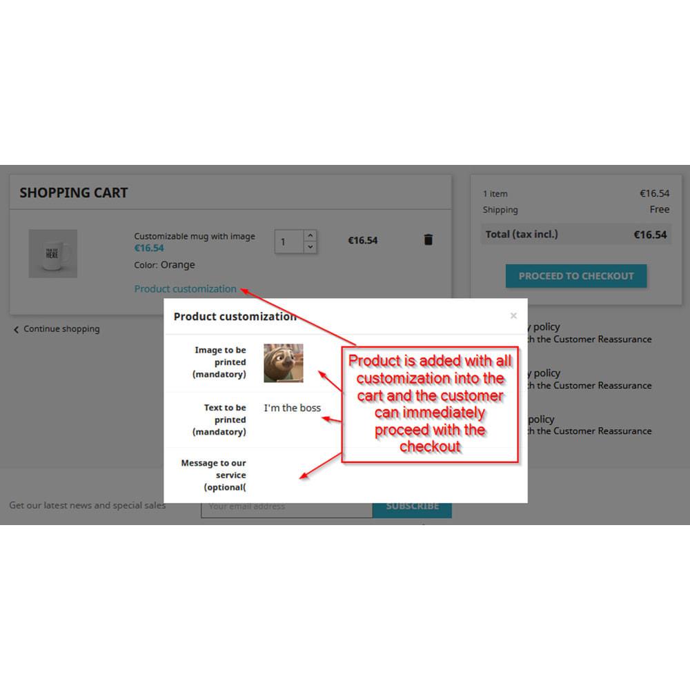 module - Вариаций и персонализации товаров - Customization directly into cart - 3