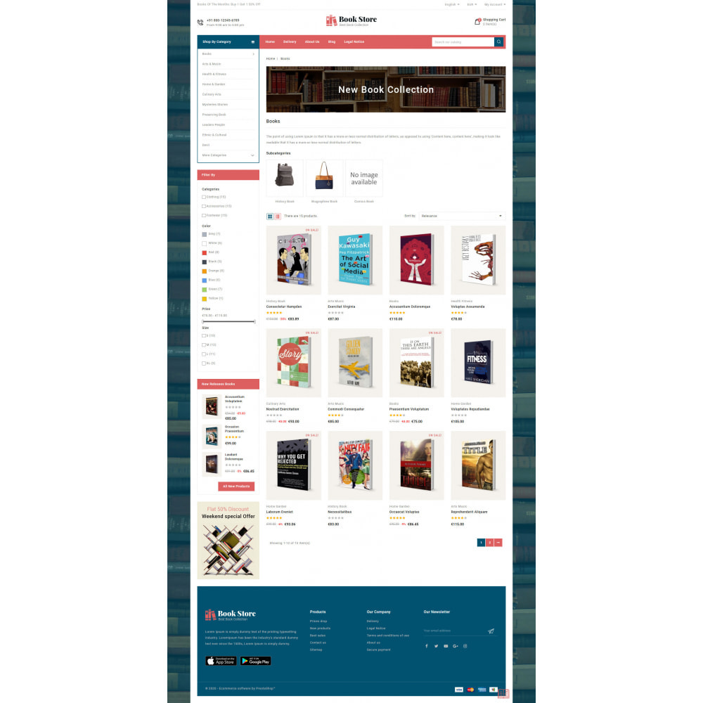 theme - Art & Culture - Online Book Store - 4