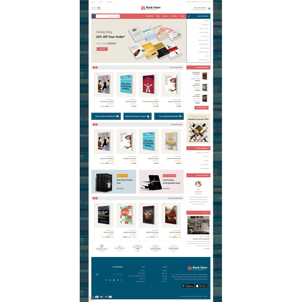 theme - Art & Culture - Online Book Store - 11