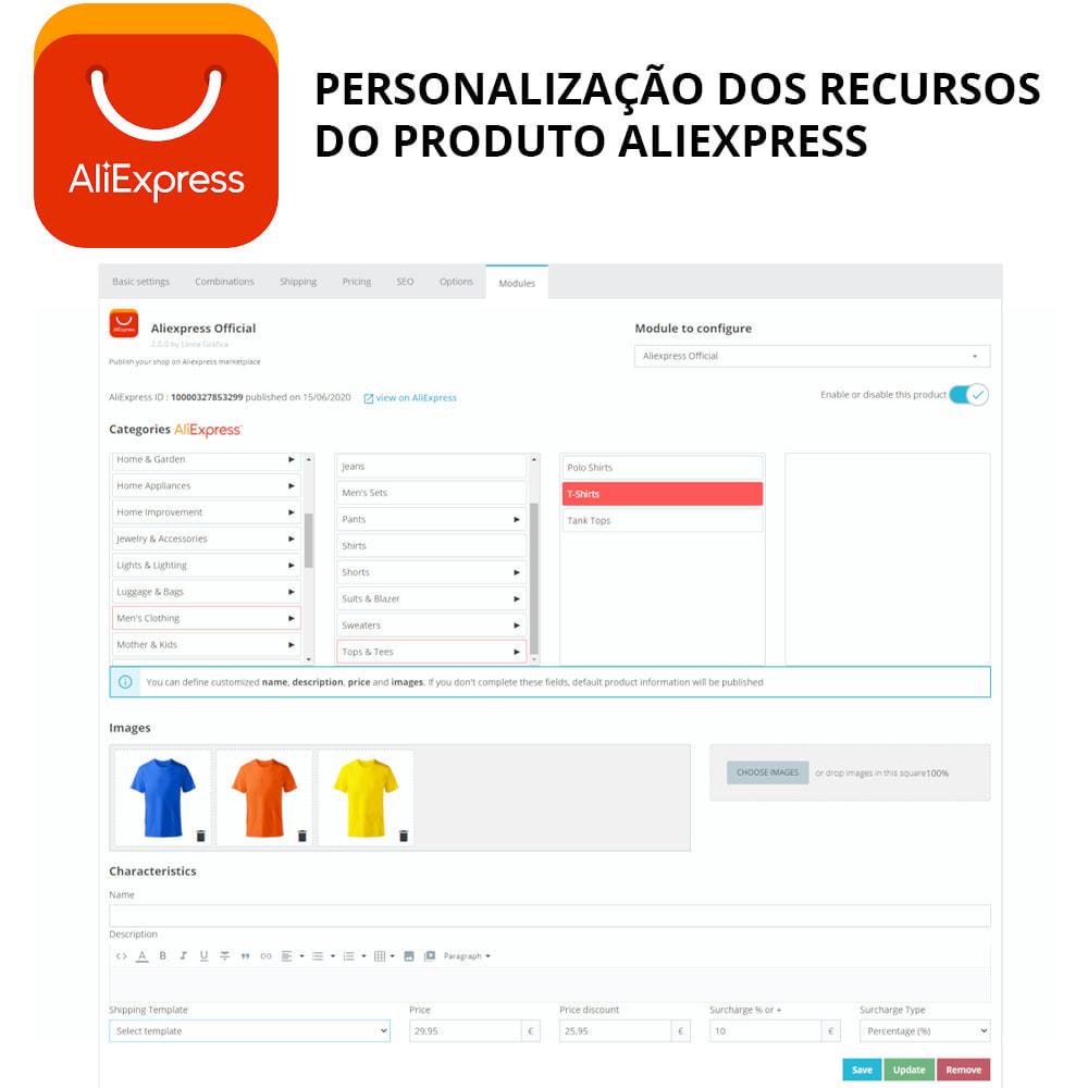module - Revenda (marketplace) - AliExpress Official - 1
