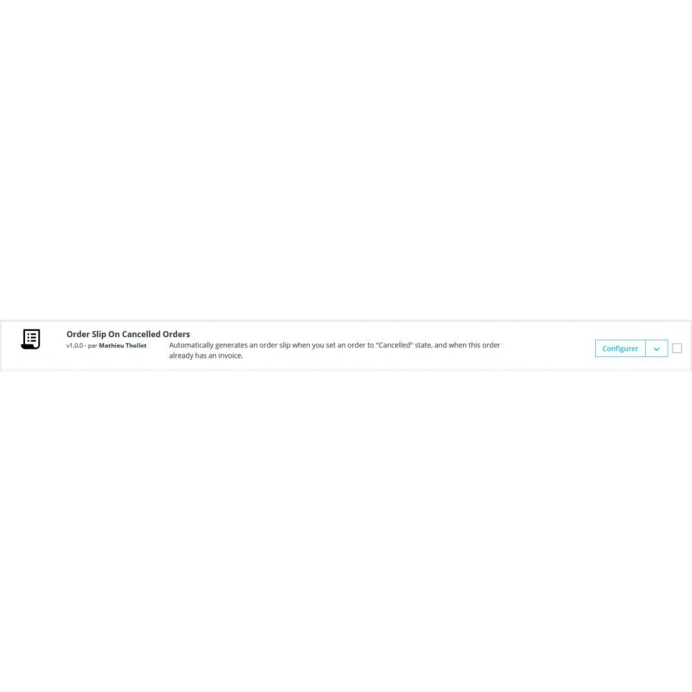 module - Contabilità & Fatturazione - Slip ordine automatico su ordini annullati - 1