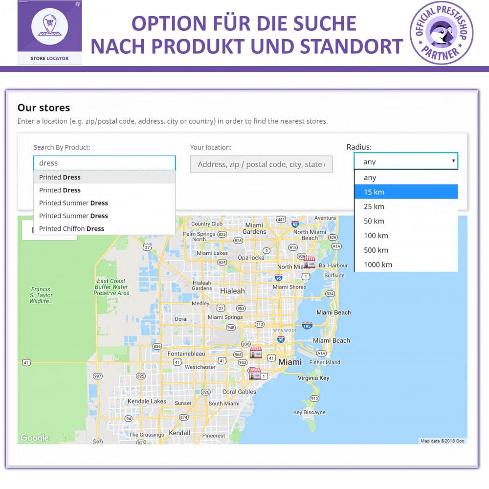 module - Internationalisierung & Lokalisierung - Shopfinder mit Google Maps - 6