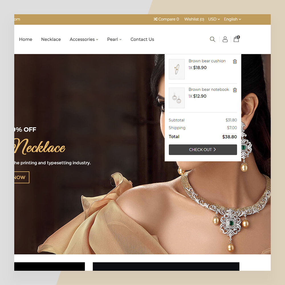 theme - Biżuteria & Akcesoria - Emerald Jewelry - Jewellery & Accessories Template - 5