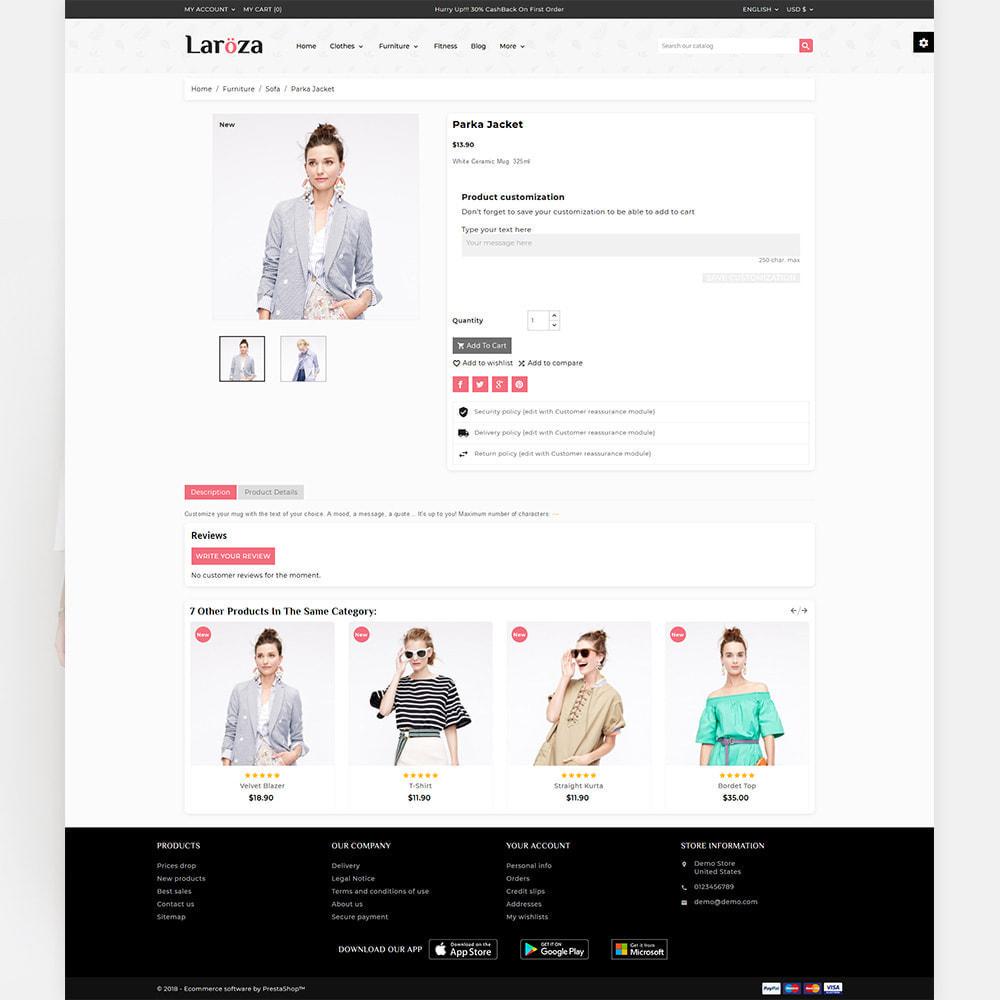 theme - Fashion & Shoes - Laroza - Style Fashion Store - 5