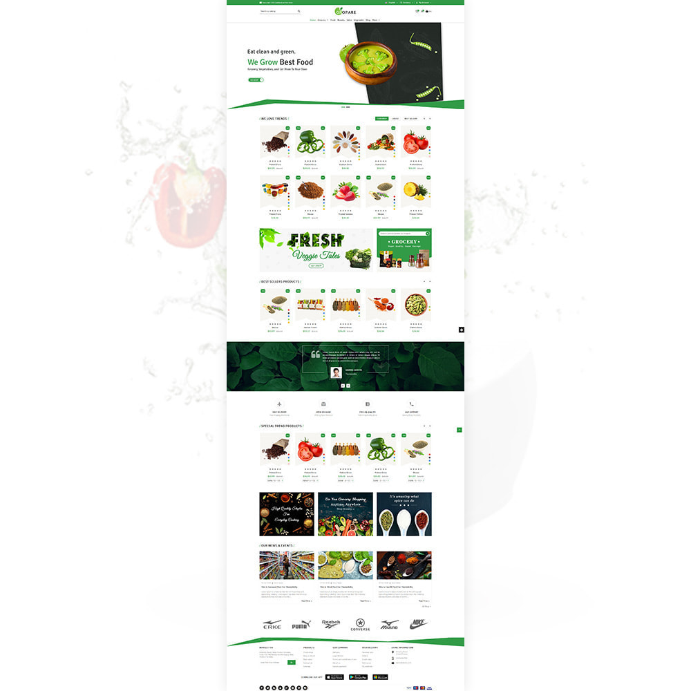 theme - Food & Restaurant - Fropare Fresh Grocery Shop - 2