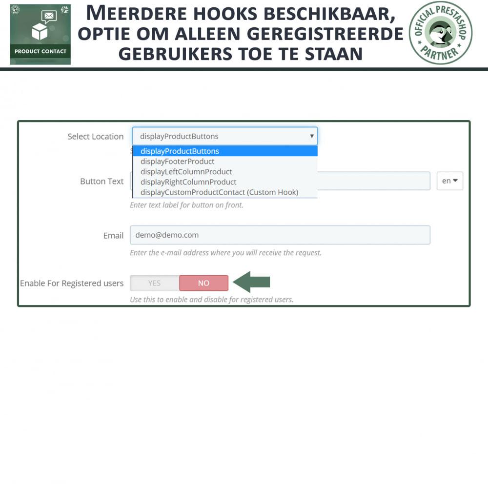 module - Contactformulier & Enquêtes - Product Contact - onderzoek Formulier - 7
