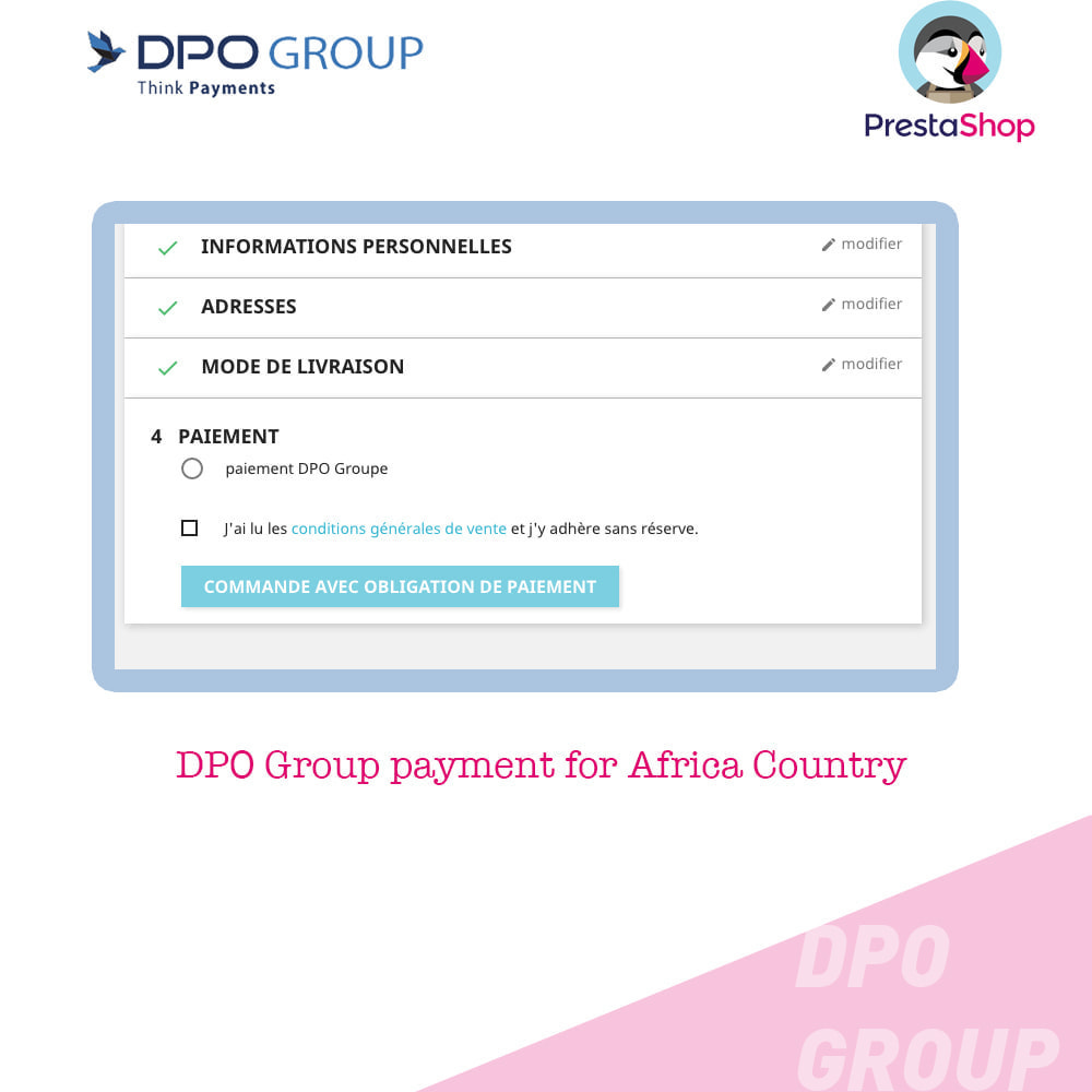 module - Mobile - DPO Group payment - 3