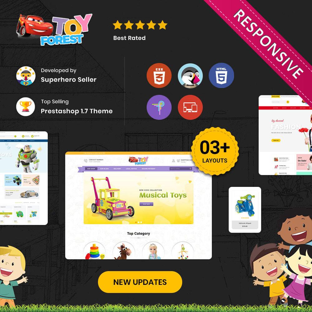 theme - Niños y Juguetes - ToyForest - La tienda Mega Kids - 2