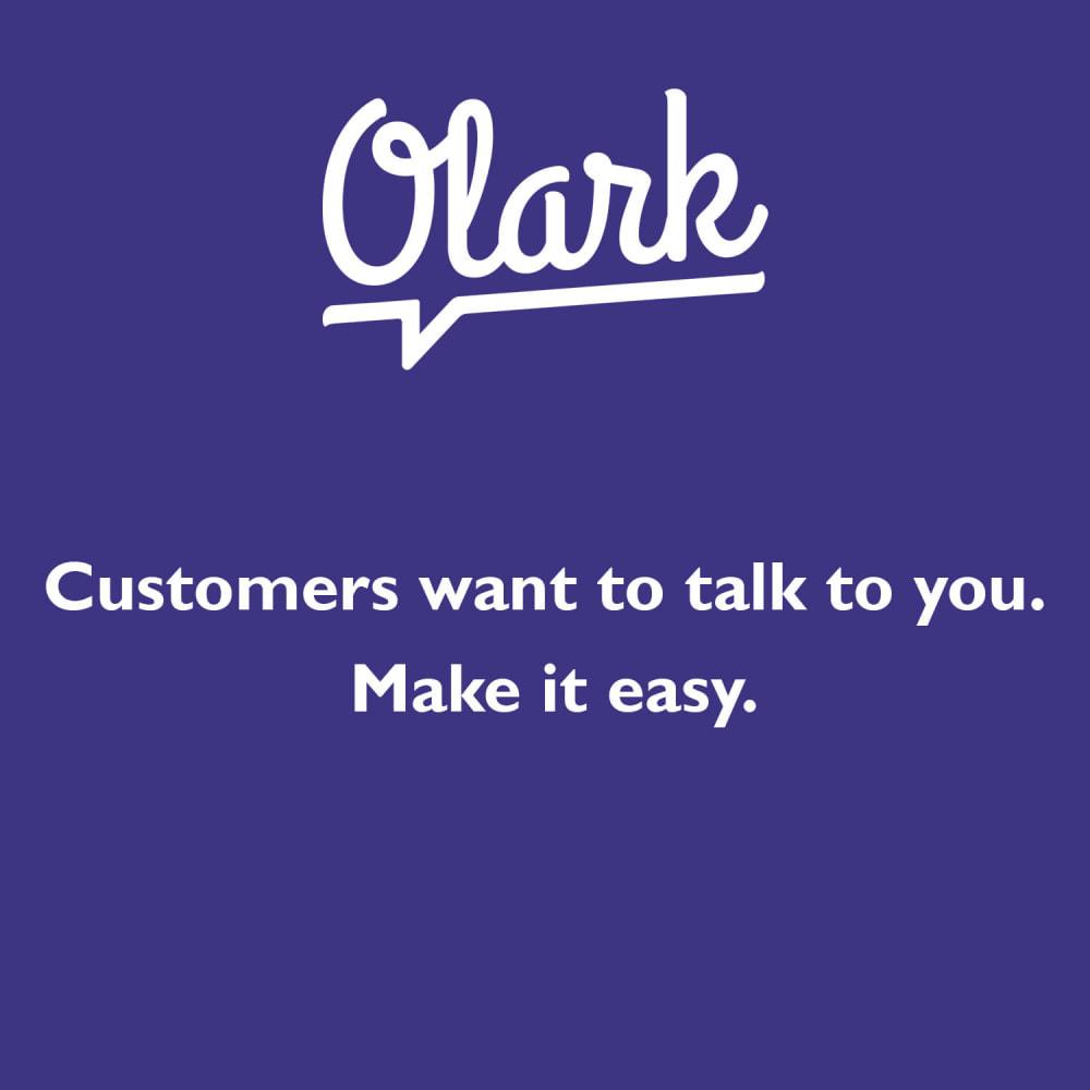 module - Support & Online Chat - Olark Live Chat Integration - 1