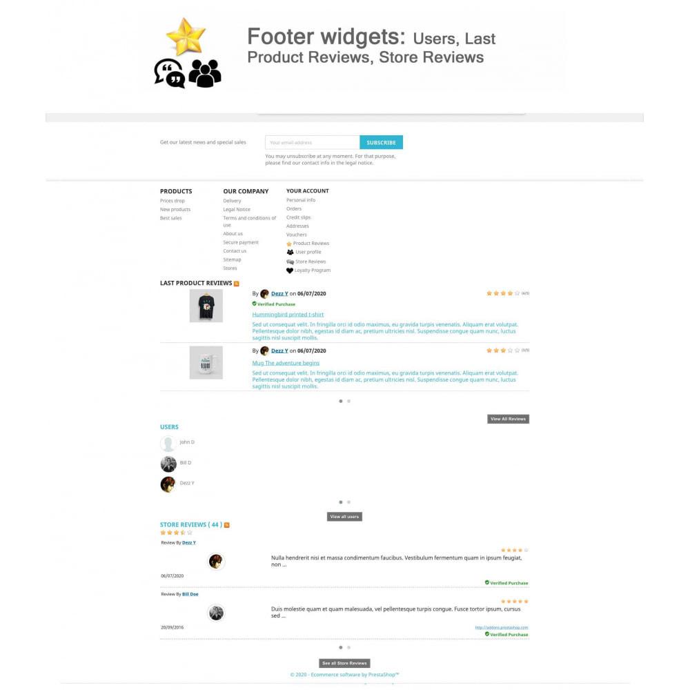 module - Kundenbewertungen - Product Reviews+Shop Reviews, Loyalty Program, Reminder - 18