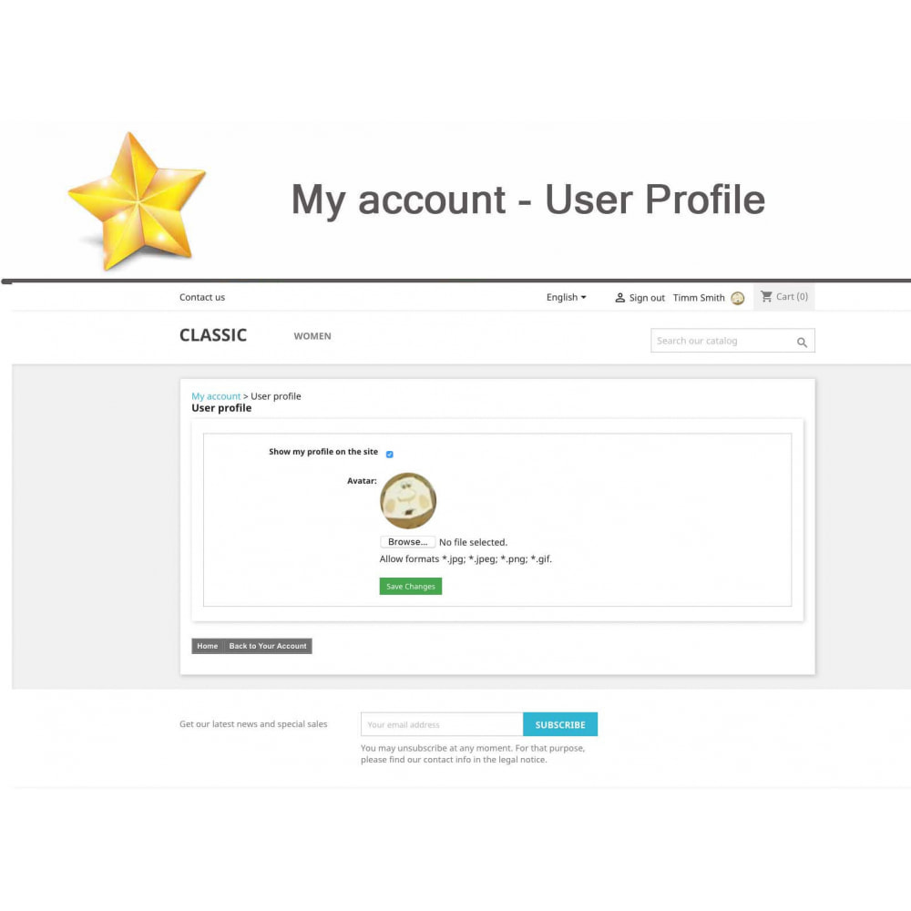 module - Social Widget - Product Reviews PRO + Loyalty Program + User Profile - 16