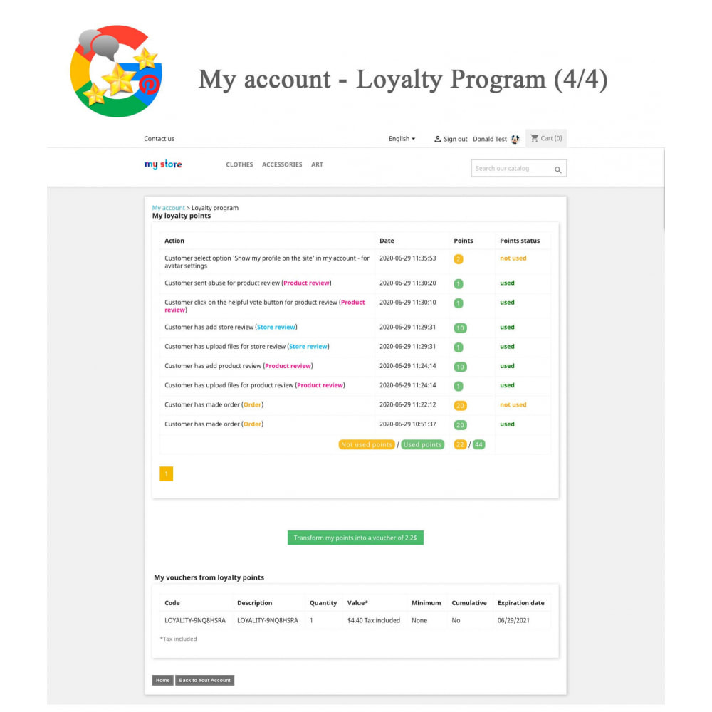 module - Opinie klientów - Product, Shop Reviews, Loyalty Program, Google Snippets - 26