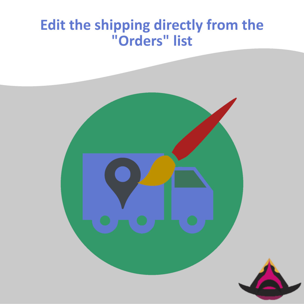 module - Shipping Carriers - Edit the delivery directly from the orders list - 1