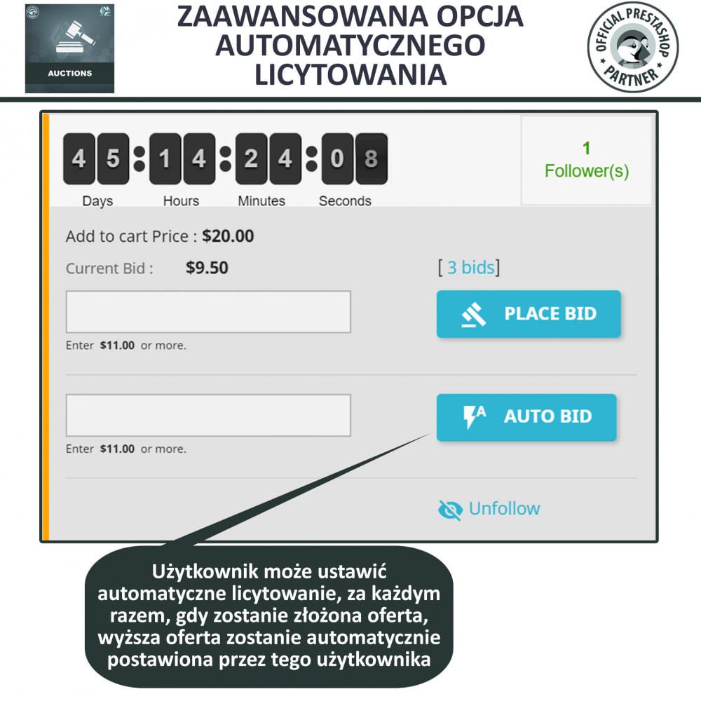 module - Zbuduj stronę aukcyjną - Aukcje Pro, Aukcje i Licytacje Online - 7