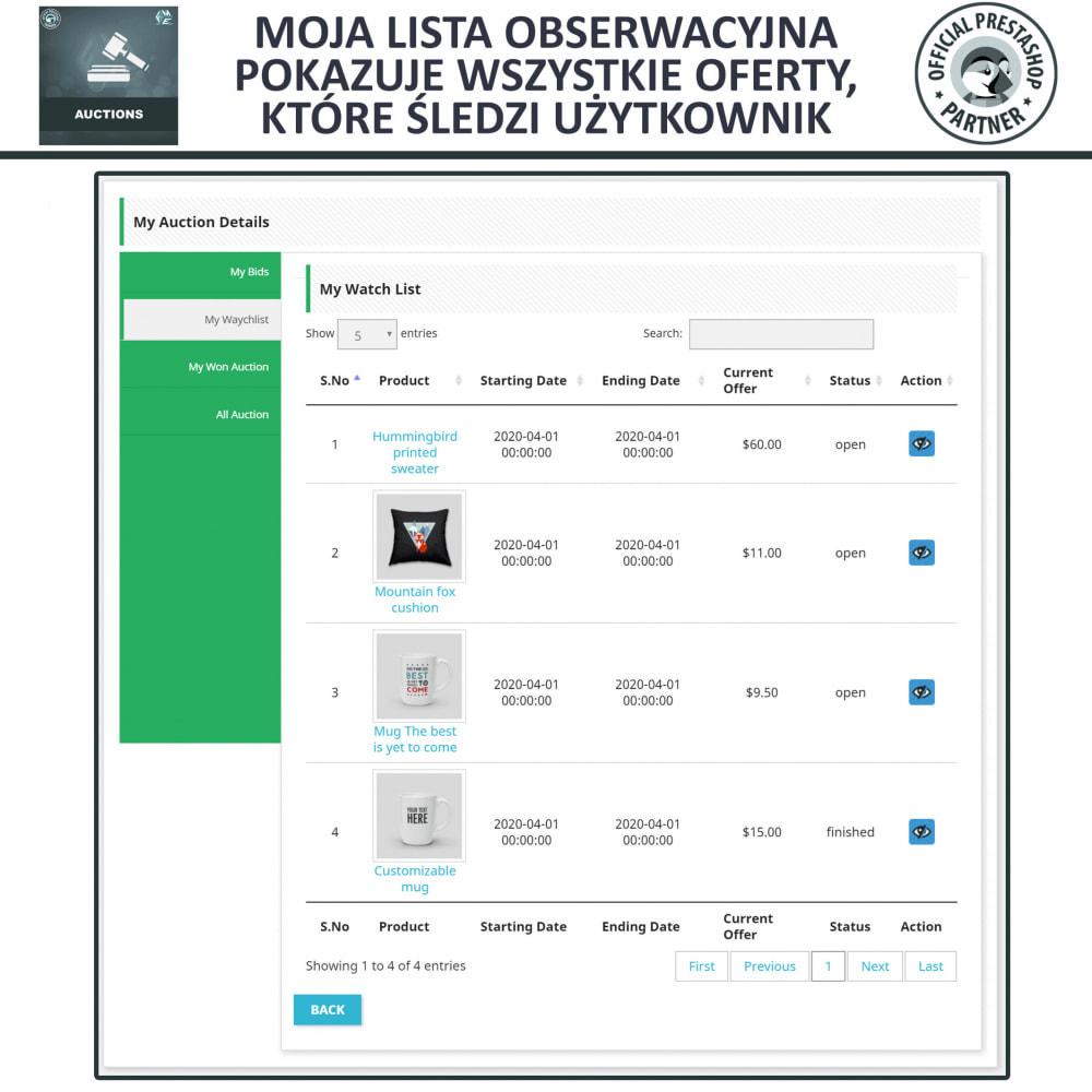 module - Zbuduj stronę aukcyjną - Aukcje Pro, Aukcje i Licytacje Online - 10