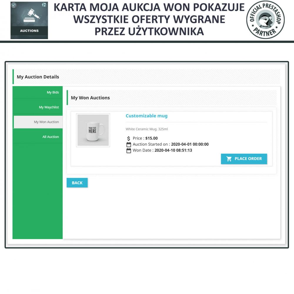 module - Zbuduj stronę aukcyjną - Aukcje Pro, Aukcje i Licytacje Online - 11