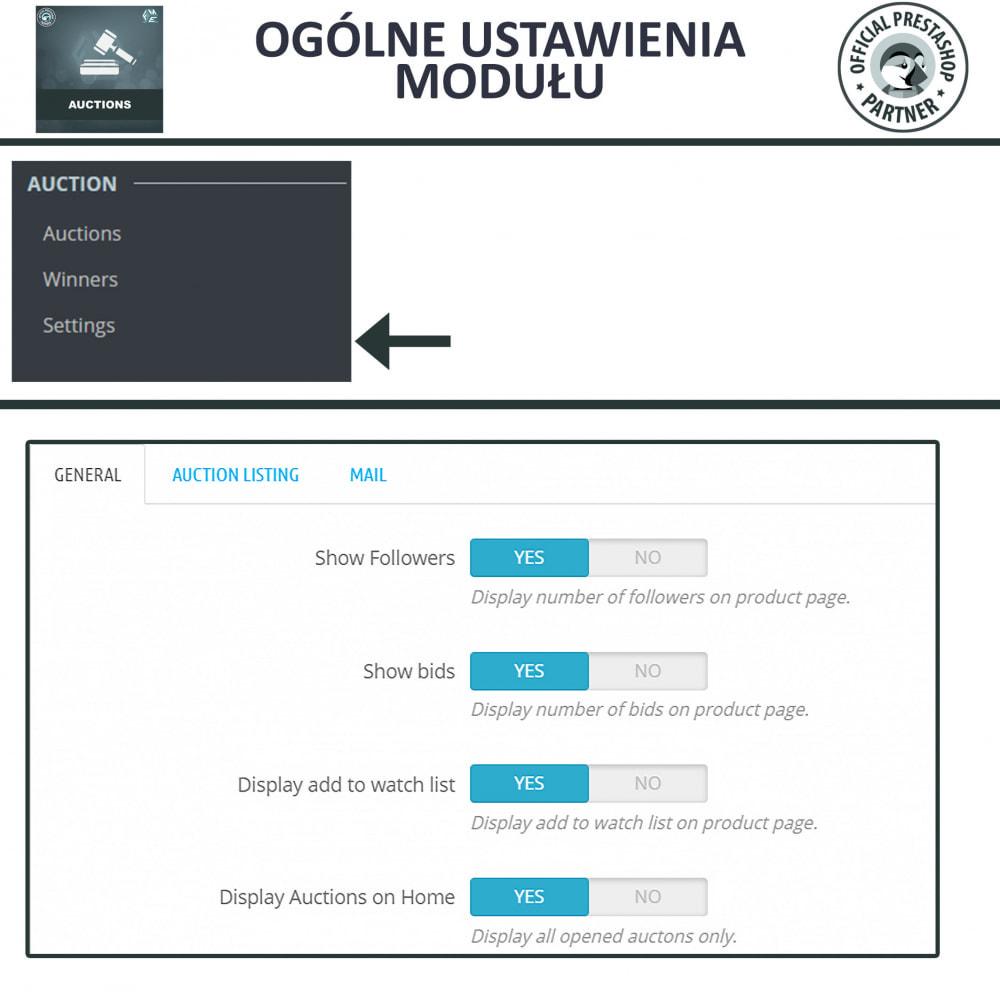 module - Zbuduj stronę aukcyjną - Aukcje Pro, Aukcje i Licytacje Online - 20